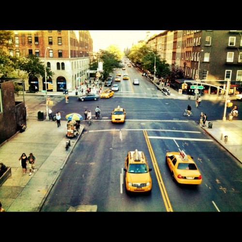 Day 9… View from the high line park #nyc #highline (Taken with Instagram)