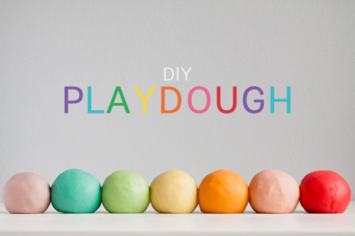 donttrythisathome-seriously:  Play Dough     If ever there was a quintessential DIY toy it's play dough!  Parents and children have been happily cooking up this stuff at home for decades.  Today our newest contributor Kaley is sharing her favorite play dough recipe using another kid classic: Jell-O (because it just wouldn't be an MPMK post without some sort of twist).  I think you're going to love this recipe.  Kaley promises it comes out silky smooth and I could practically smell the fruity scents wafting form my computer as I read her post.Along with being a play dough aficionado, Kaley is currently a resident of Honduras, mom to a beautiful little girl, a self-described organization nut and she takes stunning photos to boot. (Check out her blog for the proof.) She'll be popping in regularly to share her latest adventures with her daughter as well as her organizational exploits as she moves her family back to the states.  What kid doesn't love play dough?  Squishy, cool, bright, and so fun to play with. Even better, it helps develop fine motor skills and imagination.  Instead of going out and buying commerical Play Doh, try making it at home! It's super easy, inexpensive, and a perfect project for the kids to help with. We love making our own play dough, and after trying a handful of different recipes we finally found a winner.  This play dough comes out in beautiful, soft shades, smells delicious, and feels the closest to store bought Play Doh of all the recipes we've tried.  Plus it makes for great party favors, see here for a great presentation ide.