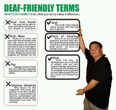 thelegalizeddeafies:  Deaf-friendly Terms
