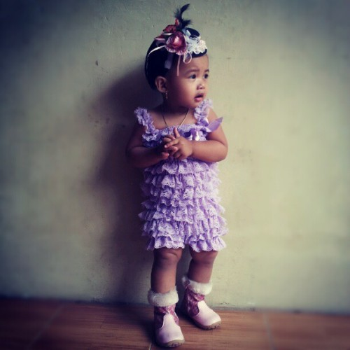 #qaila #cute #boots #pink #purple (Taken with Instagram)
