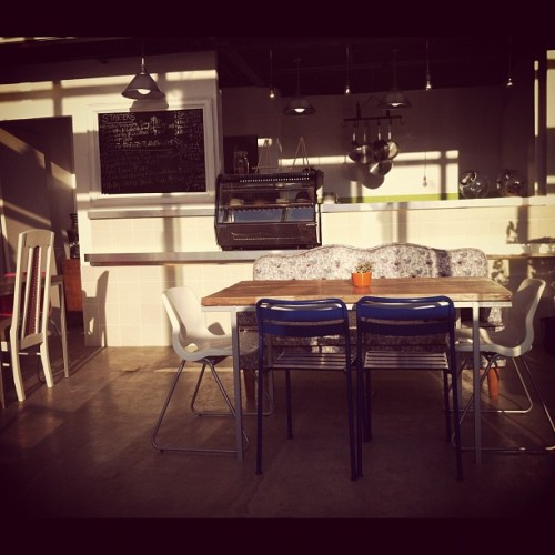 One of my fave spots @ #designerbloomscafe :) #happiness  (Taken with Instagram)