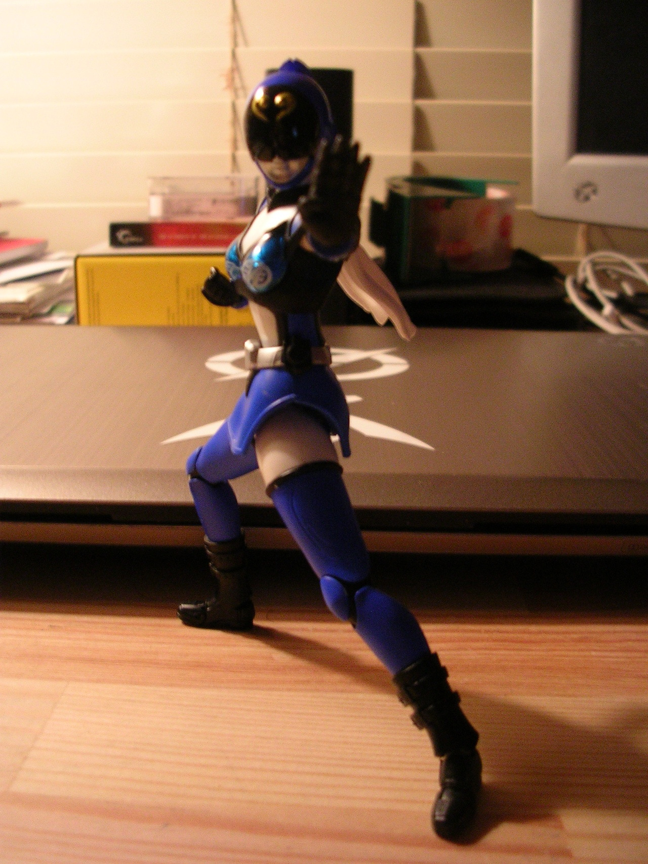 S.H. Figuarts Akiba Blue. Review tomorrow.