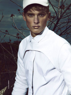 mensfashionworld:  Ollie Edward and Nicklas Kingo by Renie Saliba for DSection
