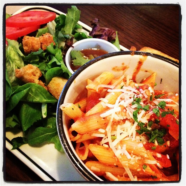 Yum yum!! #noms (Taken with Instagram at Corner Bakery Cafe)