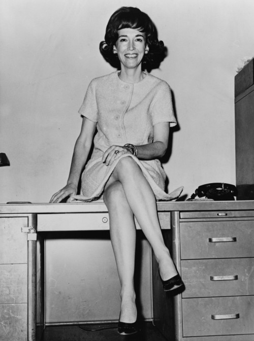 "RIP Helen Gurley Brown Yeah, I watch the news now that we only have basic cable. Brown was the original editor for Cosmo magazine and promoted the image of a strong, single and openly sexual woman through her influence on Cosmo and her own personal writing.  Even though she spent a lot of time under fire from other feminists for telling women about ways to ""please their man"", it would also be fair to say that she had exploited the fact that men sexualized women and used that sexuality to empower women rather than objectify."