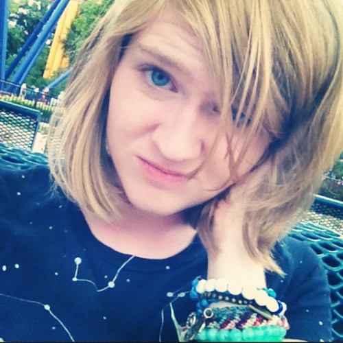 roller coaster hair  (Taken with Instagram)