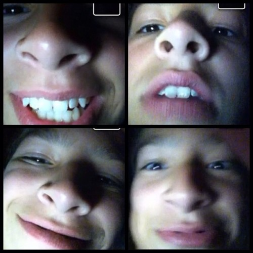 Me & @papa_dont_play FaceTimeing again XD (Taken with Instagram)