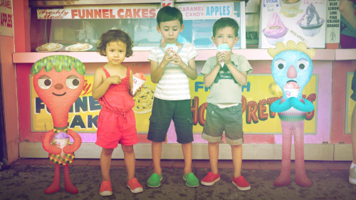 Snowcones at ConeyIsland