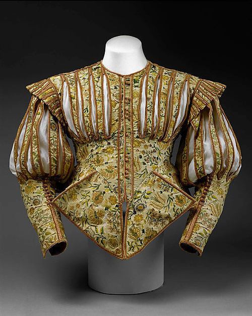 fyeahmaterialculture:  French Doublet, early 1620s, from the MET