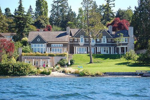 Image result for A lake house in Seattle, Washington