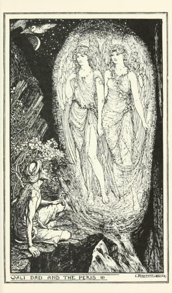 The brown fairy book (c1904)illustrations by Henry Justice Ford