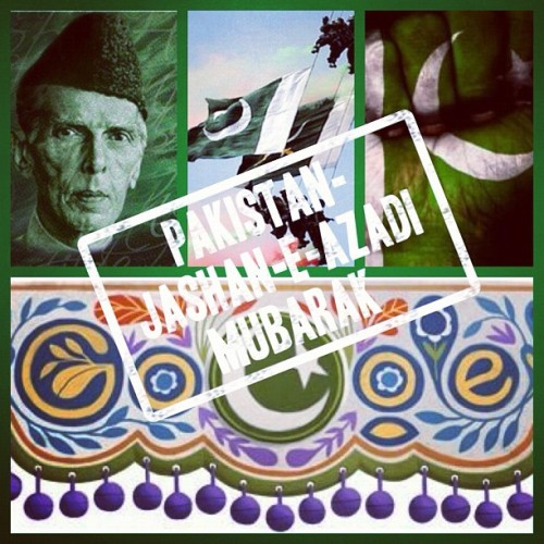 Happy Independence Day Pakistan :) Jashan e Azadi Mubarak #Pakistan  (Taken with Instagram)