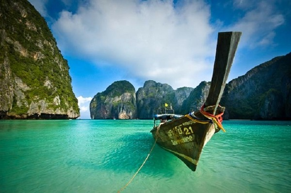 Maya Bay, Ko Phi Phi Leh, Thailand by Rene Ehrhardt  This is what we call love. When you are loved, you can do anything in creation. When you are loved, there's no need at all to understand what's happening, because everything happens within you. - Paulo Coelho