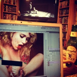 one of those nights editing. #dirty (Taken with Instagram at Izzy's Photo Shed)