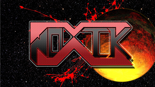 noahthemunck:  NoxiK. My official producer name and logo. Check it ;)  AWESOMESAUCE!!!