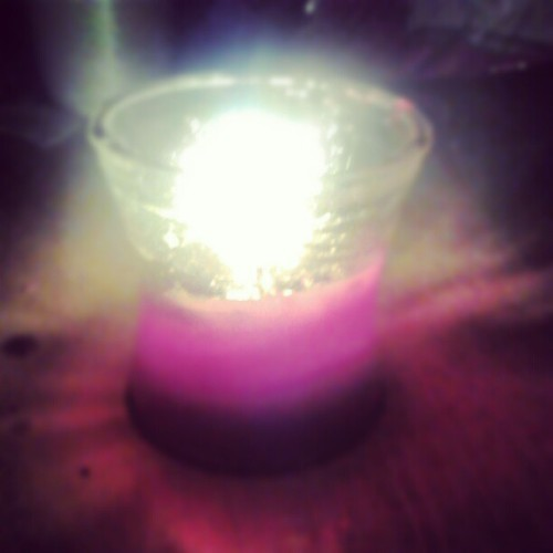 Liittle candle (Taken with Instagram)