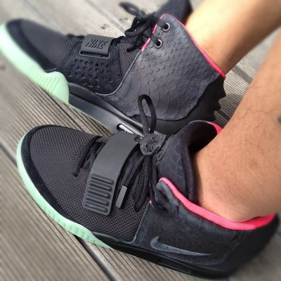 Today's kicks!!  #Yeezy2 #nike #kicks  (Instagramで撮影)