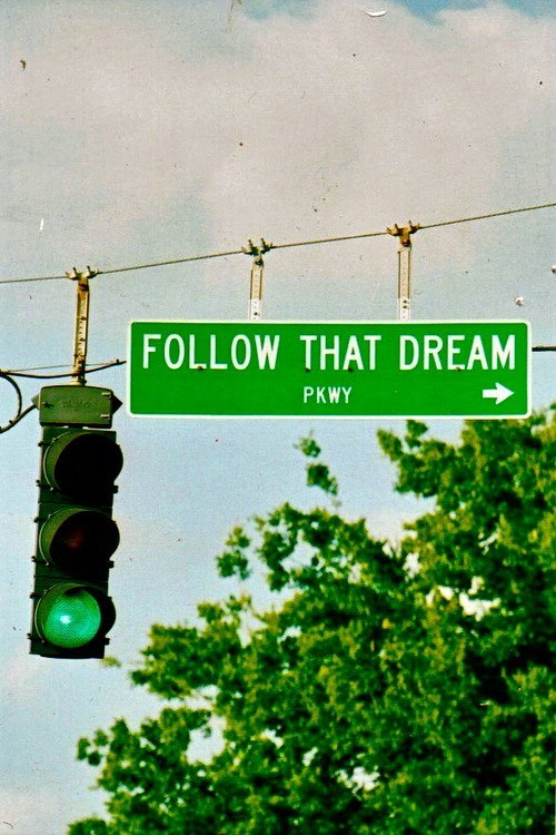 Follow that Dream Parkway - what a great road to take…