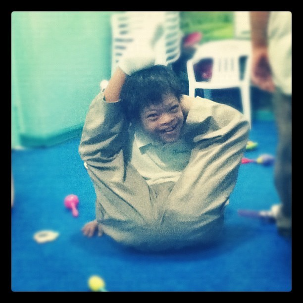 Kim Chiu is that you? #lol #preschool (Taken with Instagram)
