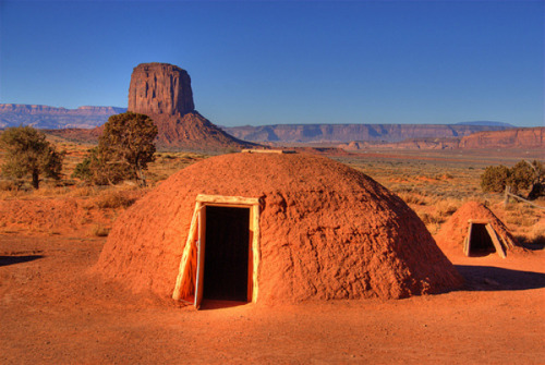 Navajo Indian Huts
