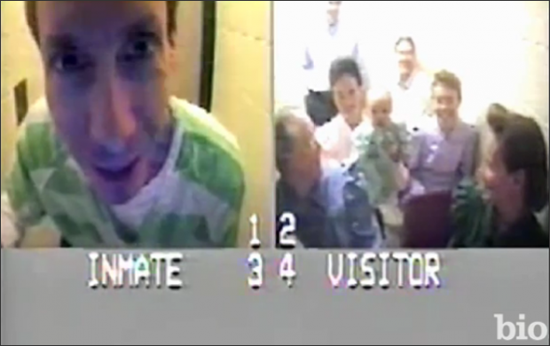 Warren Jeffs enjoying a visit in prison via