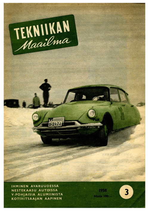 Winter Rally Racing In Finland (by paul.malon)