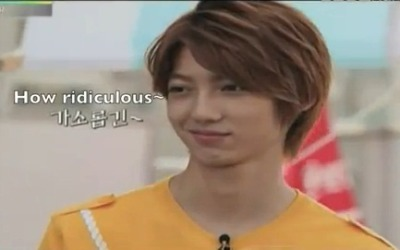 mrshortandmrsshort:   Kisoo: Kwangmin,what do you think of Youngmin? he's below you right?Kwangmin: For visual,yes.AND THIS IS YOUNGMIN REACTION! HAHAHAHHAHAHA so ridiculous. he just watched with that mean face when Kwangmin admit that he is handsome than Youngmin :DWonder Boy ep 3 :)