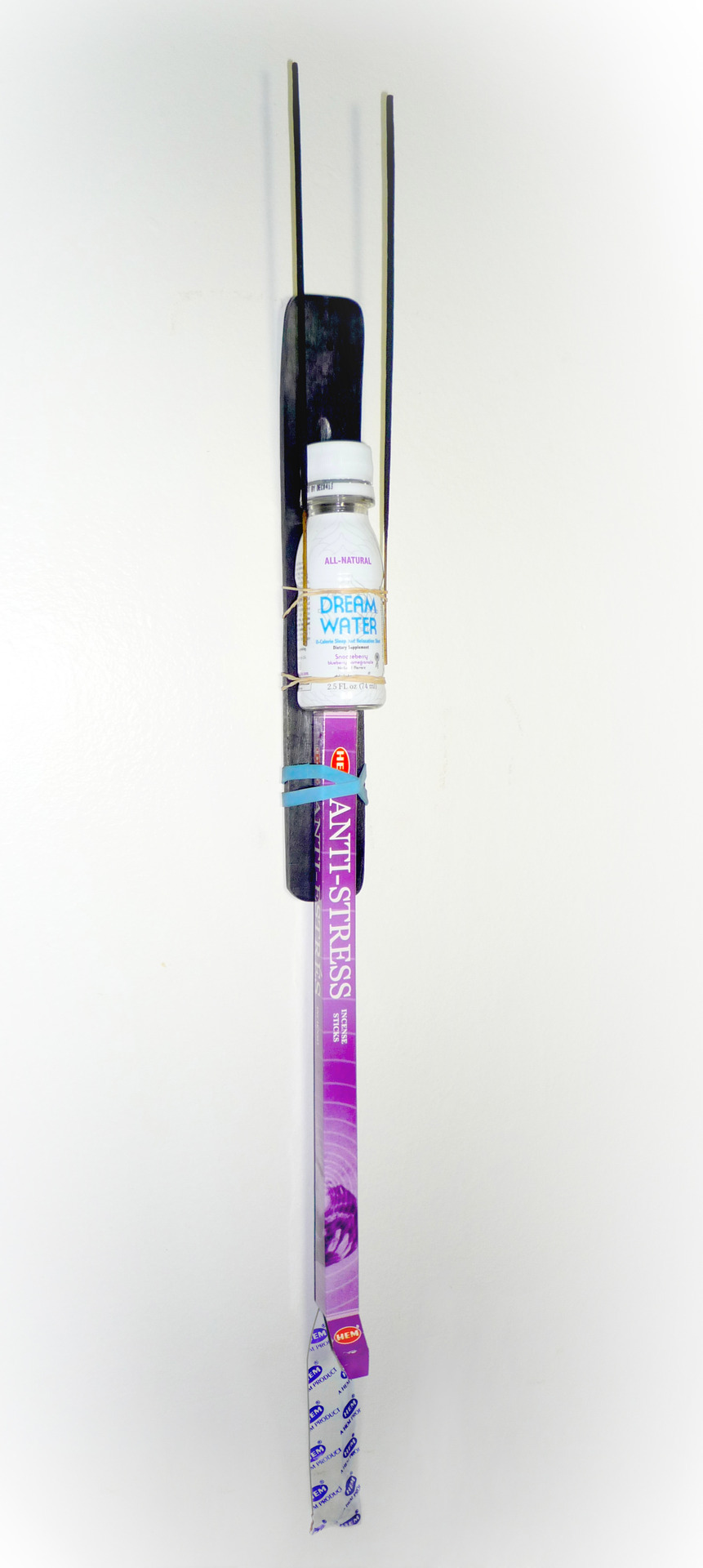 Relaxation Totem; Dream Water (SLEEP EASY) and ANTI-STRESS incense, 2012 Sculptural Remix Ω™