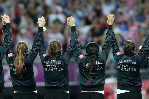 2012 Olympics: Year of the U.S. Women Female Olympians from the United States outnumbered their male teammates for the first time. (269-261) U.S. women earned more medals than women from any other nation and more medals than American men.