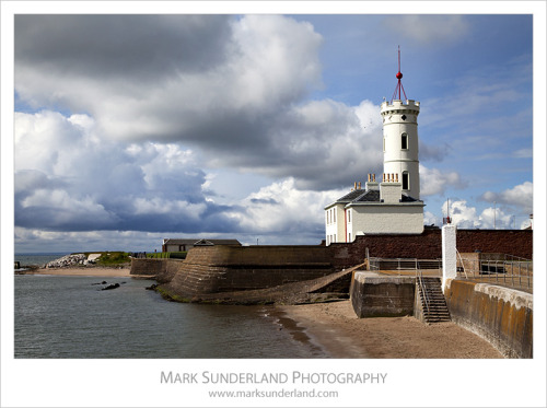 The Signal Tower at Arbroath, Angus, Scotland