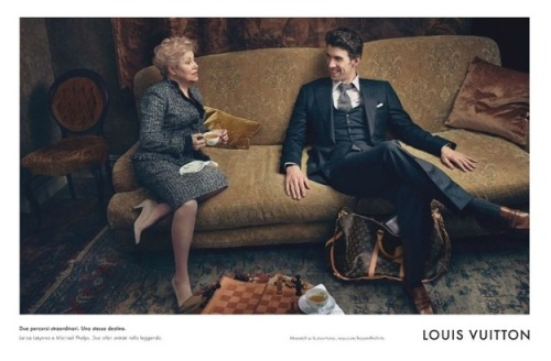 Michael Phelps Models For Louis Vuitton