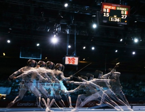 Multi-Exposure Olympic Photography