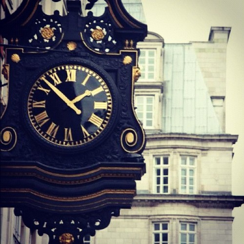 clock (Taken with Instagram)