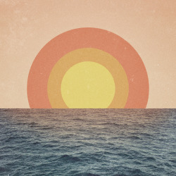 The Sea Collage by TONY KUCHAR
