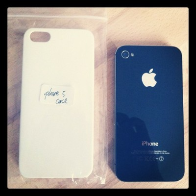 It's coming… iPhone 5 (via Gadgets)