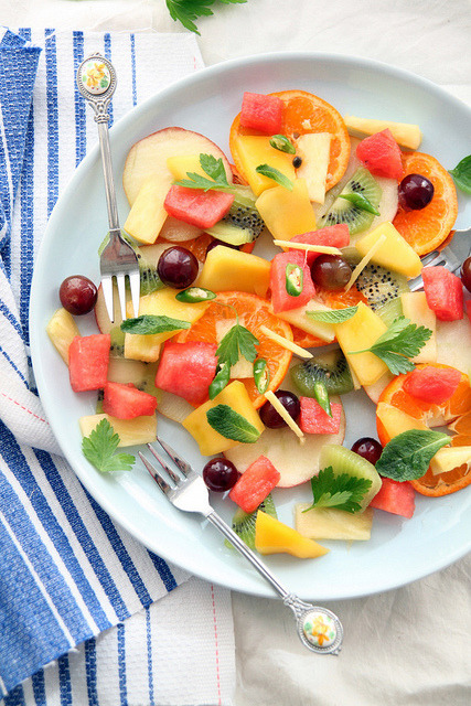 Summer Fruit Salad by Look Who's Cooking Too