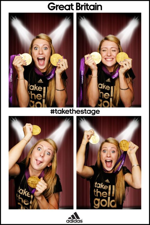 (via Twitter / LauraTrott31: Here i am in the @adidasUK …)