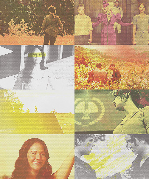 the hunger games | yellow