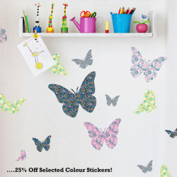 25% off selected colour wall stickers in August! Click here to have a look. :)