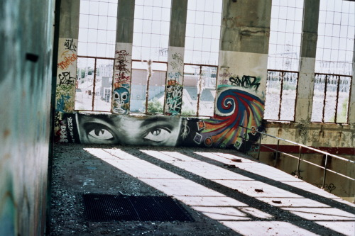 Canon AE-1 ProgramAbandoned Power Station - South Fremantle, Western Australia   With my eyes wide open!