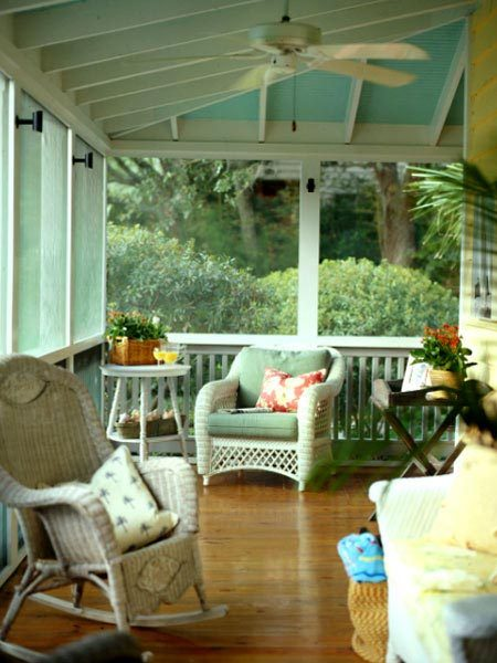 mint easygoing porch