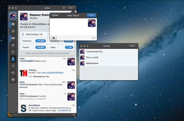 Tweetbot for Mac alpha brings drafts, profile editing, GIFs, keyword muting, and more