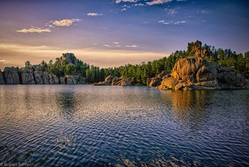 """Sylvan Lake""  From my Black Hills series.  This lake is located in Custer State Park in the Black Hills of South Dakota.  This lake was also seen in the film "" National Treasure""  One exposer HDR processed in HDR Efex Pro and Lightroom 4 Nikon D80 with Nikkor 18-135mm lens."