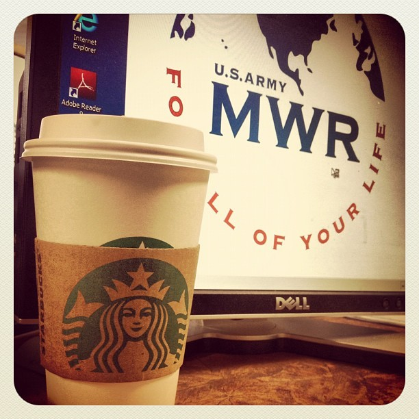 Time for work. ☕ (Taken with Instagram)