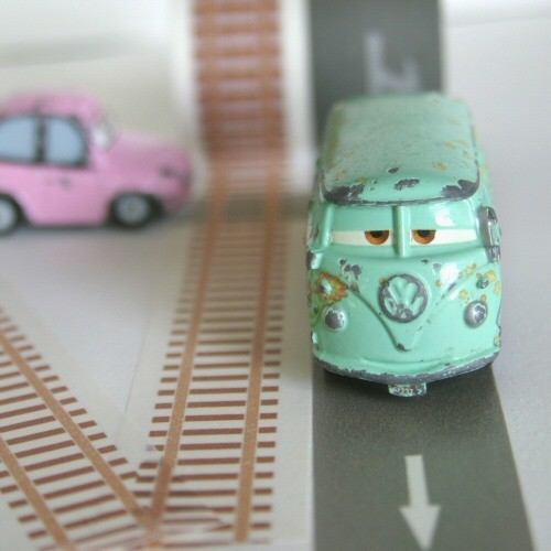 This weeks Etsy discovery…Road + Rail washi tape. Soon to be every little boys new fave thing. As much as Jax plays with his cars and trucks and trains, he would dig it. I have to order this set. The site was in Dutch, so I wasn't able to order. But of course, etsy came through. Fillmore, the bus drew me in.