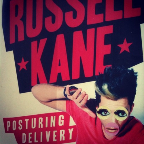 Russell Kane tonight!! #russellkane #comedian #comedy #funny #edinburgh #fringe #festival #tonight #excited http://bit.ly/NycSsa