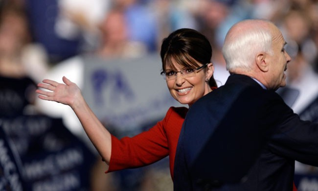 "When Republican John McCain announced charismatic first-term Alaska Gov. Sarah Palin as his running mate on Aug. 29, 2008, he re-energized his campaign. But it soon became clear that Team McCain had insufficiently vetted the ""hockey mom"" who was ill-prepared for the national stage and would arguably prove to be a liability — and a cautionary tale for future presidential candidates. History's 9 most surprising VP picks: A slideshow"