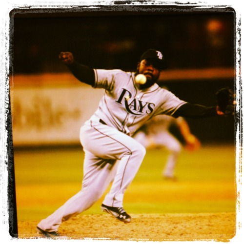 Fernando Rodney clinches his MLB League leading 37 saves against the Seattle Mariners in last night's 4-1 victory.