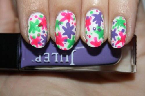 PAINT SPLATTER - Day #2 of Julep Week! Click the photo to see the full tutorial!