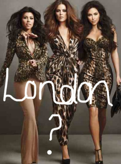 Kardashians Take on London  After years of waiting the Kardashians are set to take London by storm.   Ok, so they might not be opening one of their famous DASH stores (just yet) however I feel this is a test to see how well received their clothing line is in the UK.  Despite them launching their line at Dorothy Perkins and despite it being women's clothing the temptation of going down to London for the chance of a meet & greet excites me MUCHO.  Kimmy K is set to launch the line early November … question is 'who will join her at the opening?'  #Keep-it-Kardashian